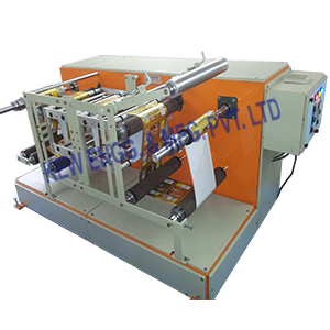 Thermal Transfer Overprinter With Winding Rewinding