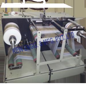 Winding Rewinding Machine With Inkjet Printer