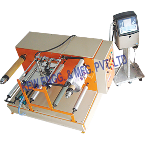 Film Winding Rewinding Machine For Batch Coding