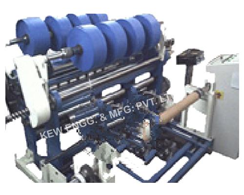 Polypropylene Liner Fabric Slitter Rewinder